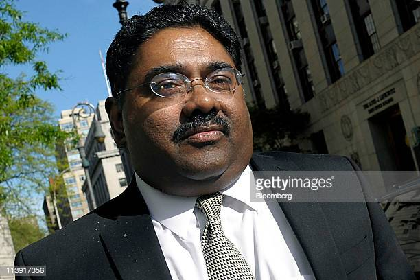 Raj Rajaratnam the Galleon Group LLC cofounder accused of insider trading arrives at federal court in New York US on Tuesday May 10 2011 Jurors...
