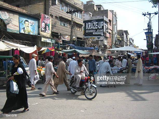 Raja Bazar in old city of Rawalpindi, near Islamabad. Rawalpindi, commonly known as Pindi, is a city in the Pothohar region of Pakistan. Rawalpindi...