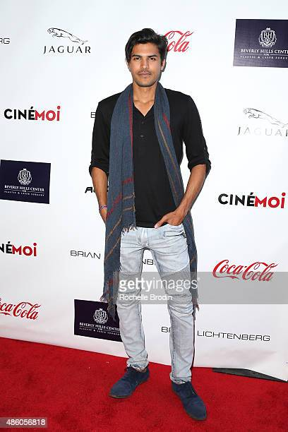 Raja Dhir arrives at the Accelerate4Change charity event presented by Dr Ben Talei Cinemoi on August 29 2015 in Beverly Hills California