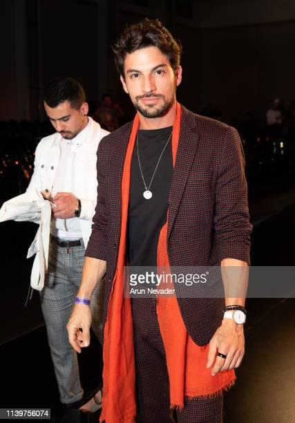 Raja Otaqui attends Jordan Fashion Week 019 on March 30 2019 at the Kempinski Amman in Amman Jordan