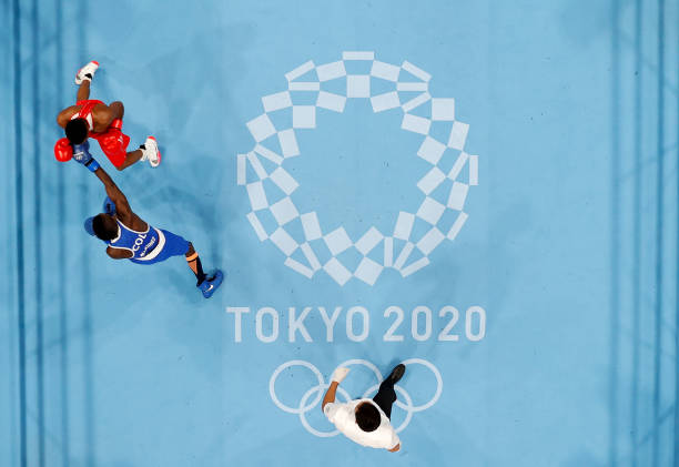 JPN: Boxing - Olympics: Day 3