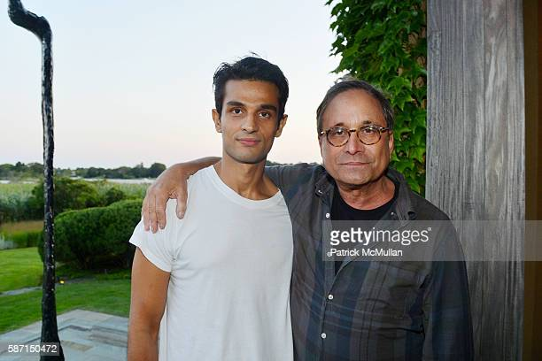 Rajan Mamtini and Ross Bleckner attend Tom Diane Tuft and Christina Cuomo Celebrate the Launch of Jay McInerney's New Novel Bright Precious Days at...