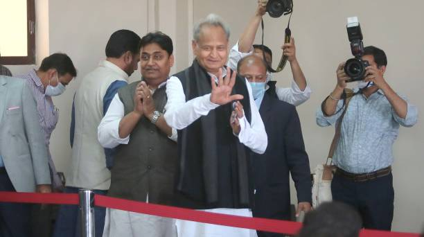 IND: Rajasthan Chief Minister Ashok Gehlot Addresses Media After Presenting Budget