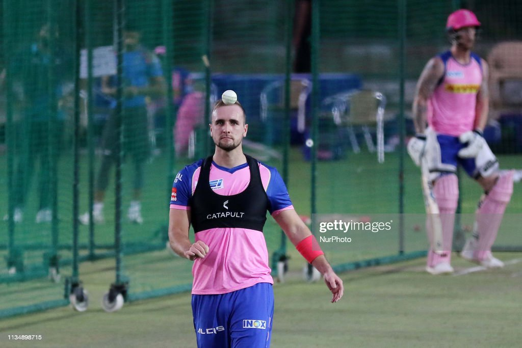 Rajasthan Royals RR Practice Session In Jaipur : News Photo