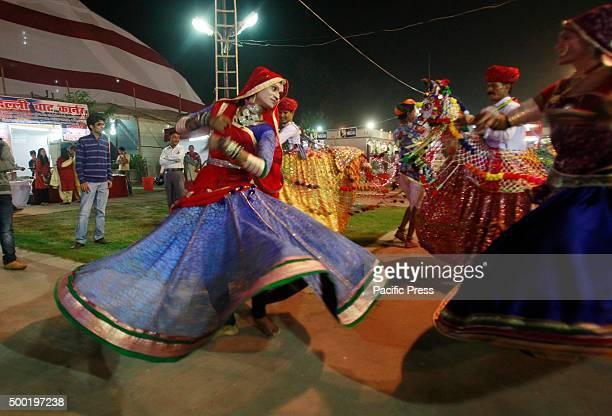 Rajasthani artists perform Kalbeliya folk dance during Rahtriya Shilp Mela at Norther Zone Central Center in Allahabad Kalbelia or Kabeliya is one of...
