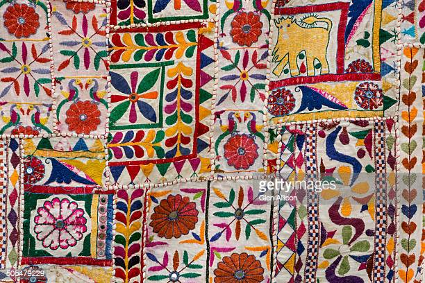 Rajasthani textile fabric embroidery