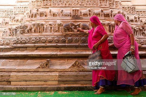 CONTENT] Rajasthani women making offerings to gods inside the beautiful Jagdish temple in Udaipur It was shot during a Vishnu festival as you an se...