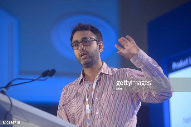 Rajat Deshpande CEO and CoFounder at FinBox photographed during MINT Fintech Summit 2017 in Mumbai