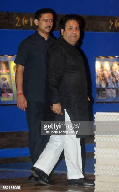 Rajeev Shukla during the party hosted by Nita and Mukesh Ambani to celebrate 10 glorious years of Mumbai Indians in Mumbai