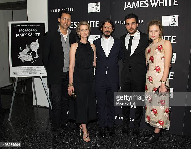 Rajendra Roy Cynthia Nixon Josh Mond Christopher Abbott and Makenzie Leigh attend opening night of MOMA's eighth annual Contenders featuring The Film...