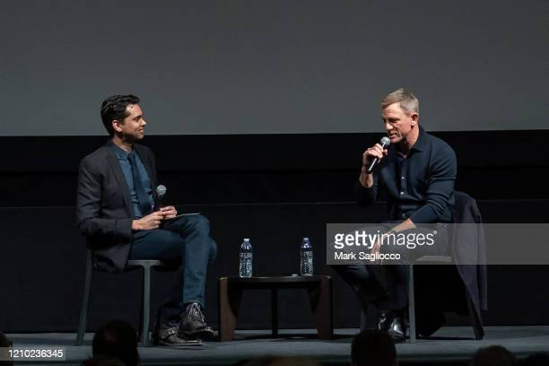 Rajendra Roy interviews Actor Daniel Craig at The Museum of Modern Art Screening of Casino Royale at MOMA on March 03 2020 in New York City