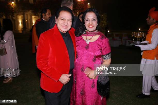 Rajinder and Pari Bagga during the fundraiser for Lepra India Trust at the residence of the British High Commissioner Sir Dominic Asquith at 2 Rajaji...