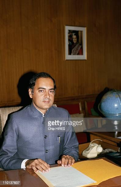 Rajiv GandhiIndian Prime Minister in November1984