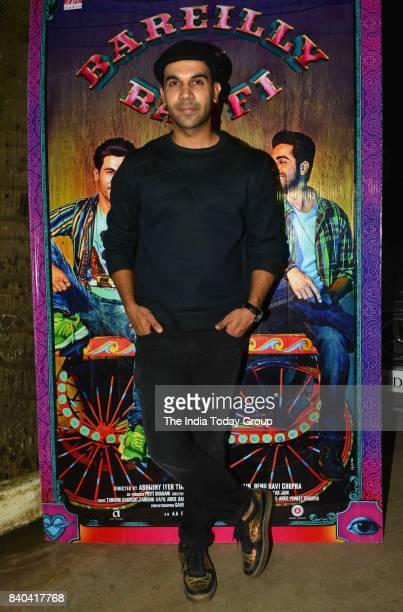 Rajkummar Rao during the special screening of Bareilly Ki Barfi in Mumbai