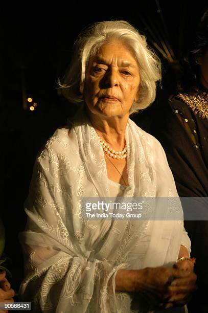 Rajmata Gayatri Devi, the brand ambassador for Arisia diamonds attending Arisia Jodhpur Polo Season, held at Mayfair in Mehrauli