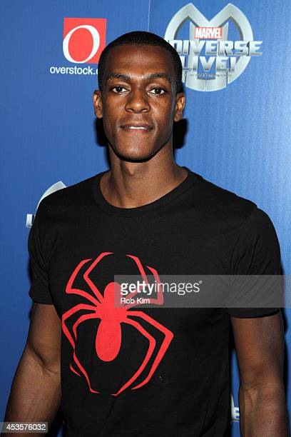 Rajon Rondo attends Marvel Universe LIVE NYC World Premiere on August 13 2014 in New York City