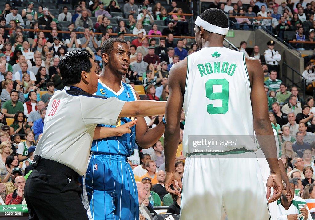 New Orleans Hornets v Boston Celtics : News Photo