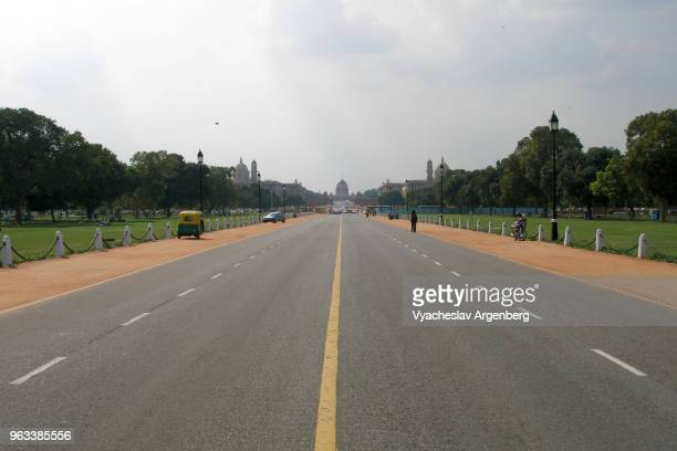rajpath (kingsway) of new delhi, india - argenberg stock pictures, royalty-free photos & images
