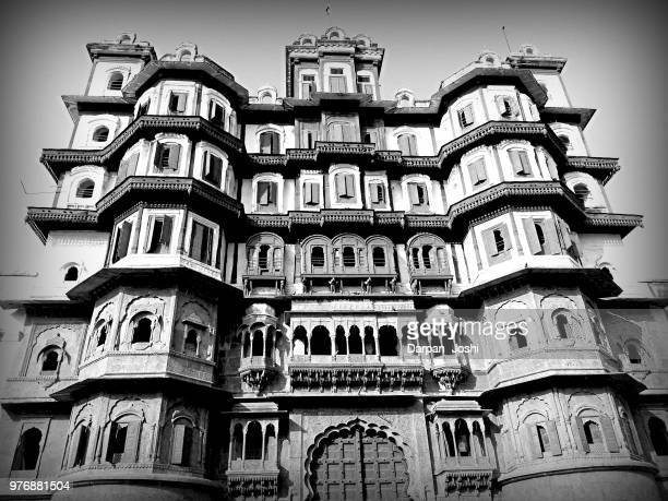 rajwada palace, indore, madhya pradesh, india - madhya pradesh stock pictures, royalty-free photos & images