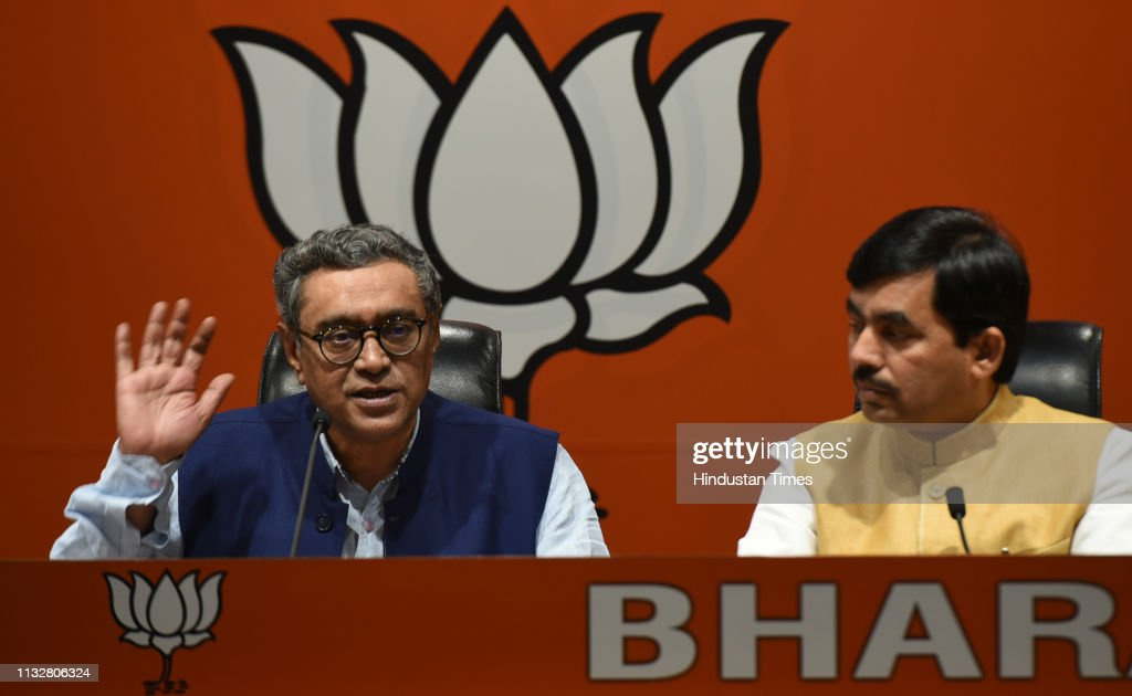 IND: BJP Press Conference On Alleged Threatening Of Customs Officials By Kolkata Police