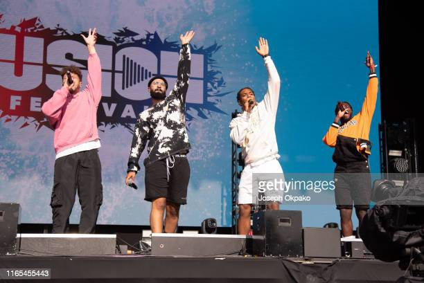 Rak Su perform on stage during day 3 of Fusion Festival 2019 on September 01 2019 in Liverpool England