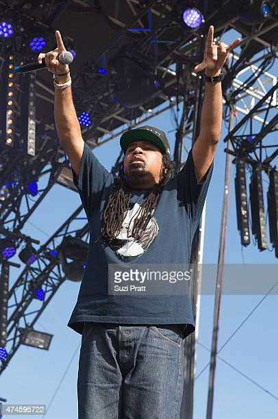 Rakaa Taylor of Dilated Peoples performs at the Sasquatch Music Festival at The Gorge on May 23 2015 in George Washington