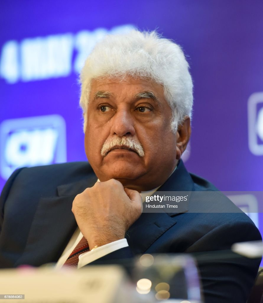 Rakesh Bharti Mittal during a press conference after Shobana
