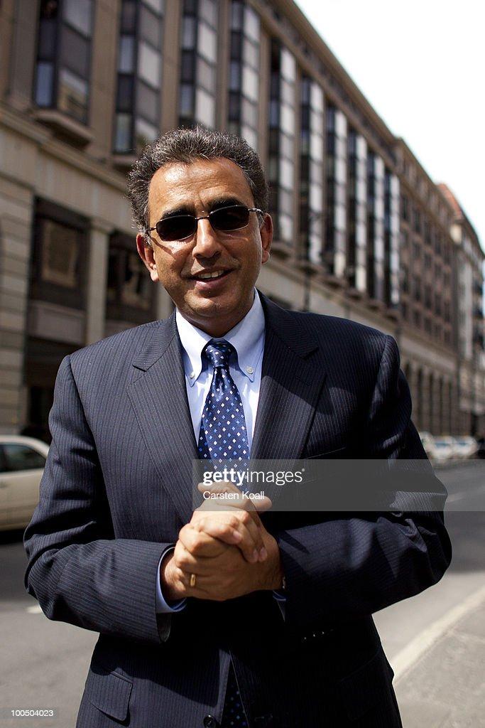 Rakesh Bhasin Portrait Session : News Photo