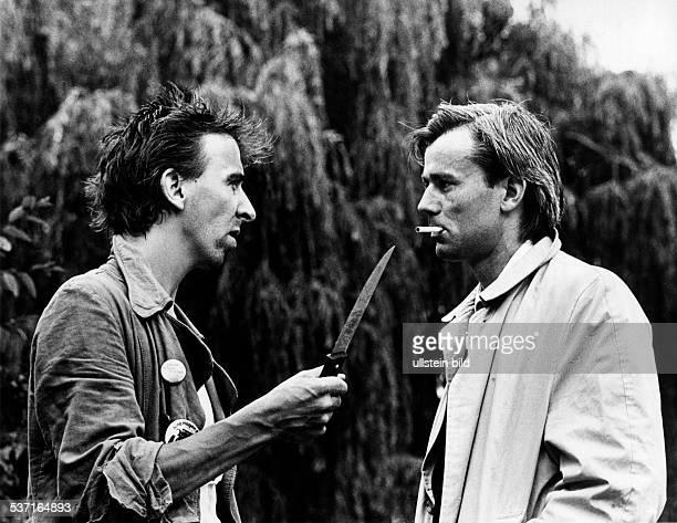 Rakete Jim * Fotograf Fotojournalist D mit dem Musiker Herwig Mitteregger 1981
