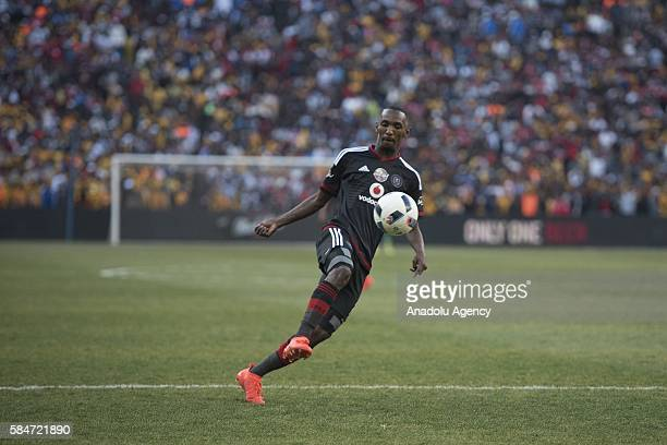 Rakhale Thabo of Orlando Pirates in action during 2016 Carling Black Label Cup between Kaizer Chiefs FC and Orlando Pirates at FNB Stadium in...