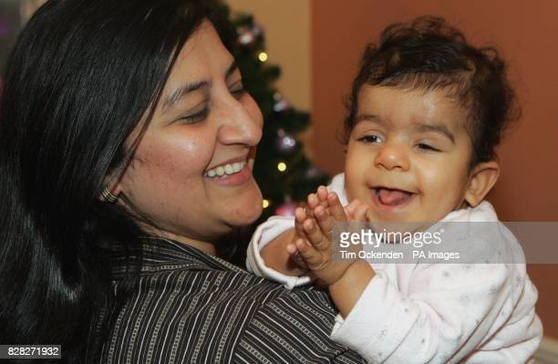 Rakhi Rajput from Camberley Surrey is desperately hoping for a match for her 16month old baby Yashica who has leukaemia and is hoping for a suitable...