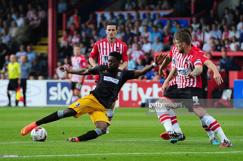 Exeter City v Mansfield Town - Sky Bet League Two : News Photo