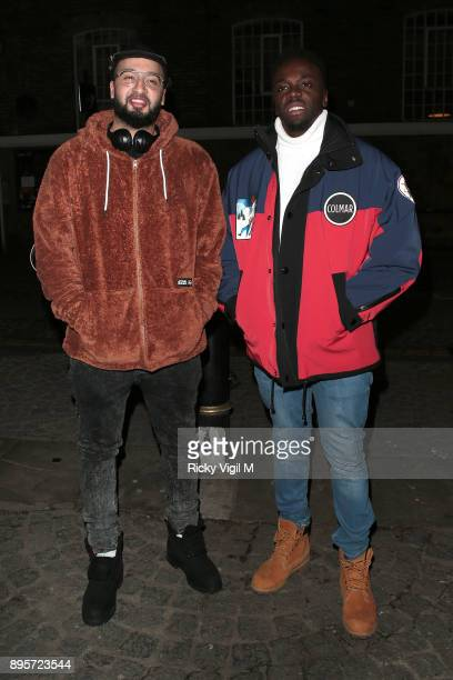 RakSu attend Notion Magazine Issue 78 launch party at Ninety One on December 19 2017 in London England