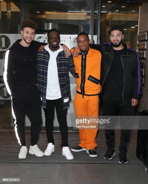 RakSu seen at BBC Radio One on December 4 2017 in London England