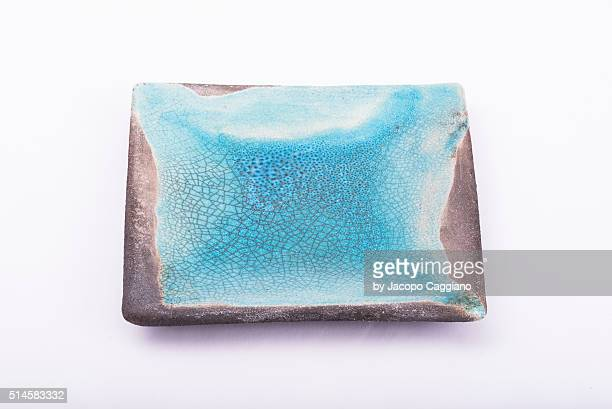 raku plate - jacopo caggiano stock pictures, royalty-free photos & images