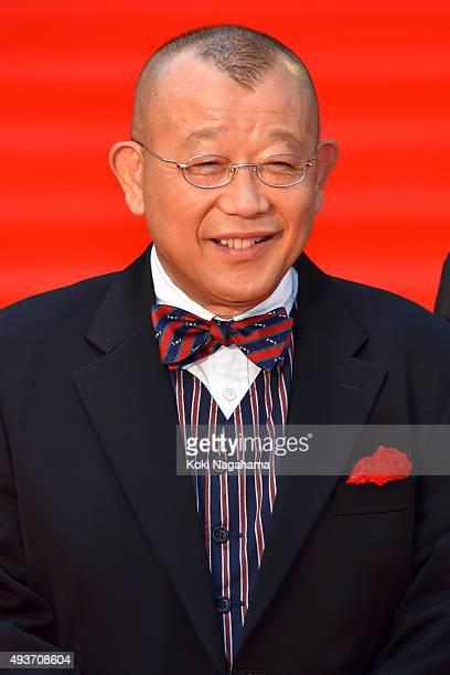 Rakugo storyteller Shofukutei Tsurube attends the opening ceremony of the Tokyo International Film Festival 2015 at Roppongi Hills on October 22 2015...