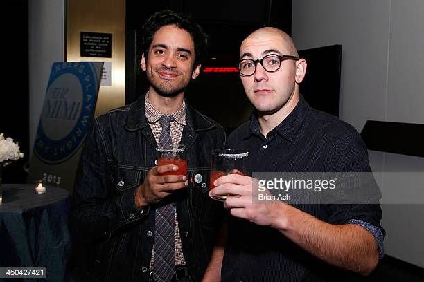 Raky Sastri and Gideon Patinkin attend The 2013 Steinberg Playwright Mimi Awards presented by The Harold and Mimi Steinberg Charitable Trust at...