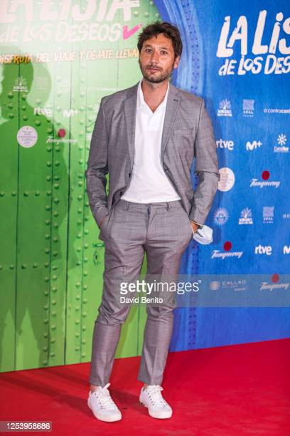 Raúl Fernández de Pablo attends 'La Lista de Los Deseos' Madrid Premiere photocall at Callao City Lights cinema on July 2 2020 in Madrid Spain This...