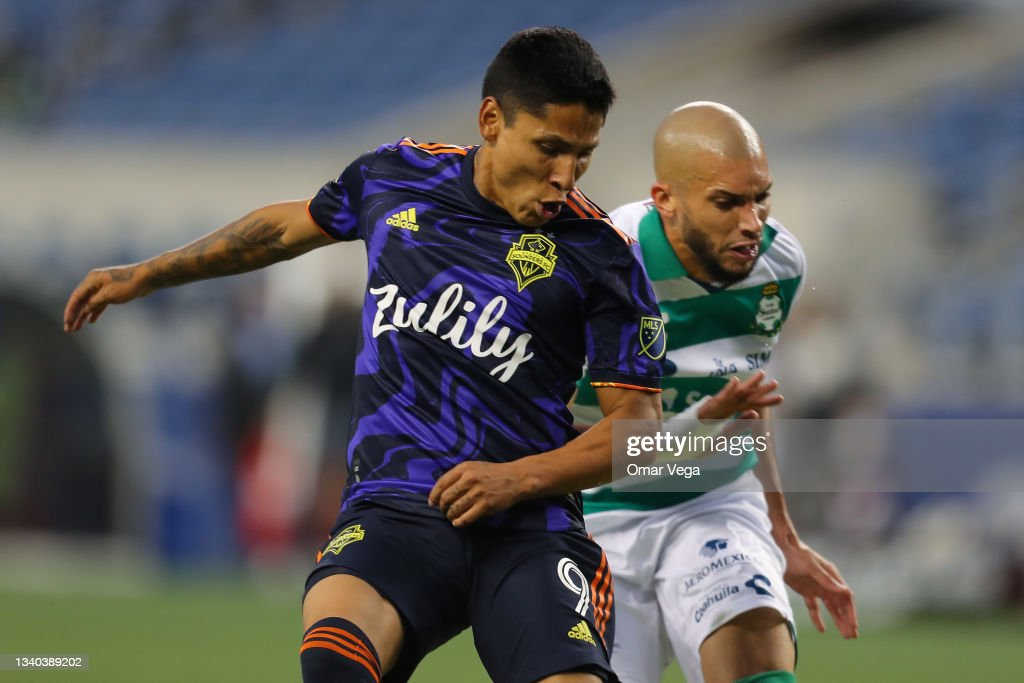 Leagues Cup 2021: Semifinals - Santos Laguna v Seattle Sounders FC : News Photo