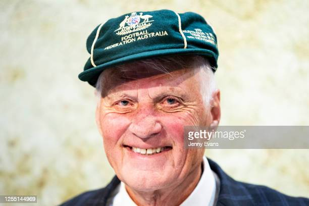 Rale Rasic former Australian association football player coach and media personality looks on after a live FFA broadcast a tribute to the career of...
