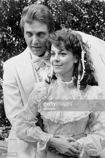 Raleigh North Carolina Actress Natalie Wood is shown with her costar Christopher Walken last August during filming of her last motion picture...