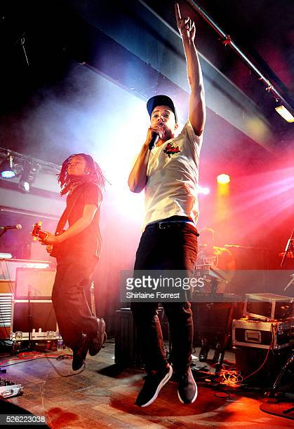 Raleigh Ritchie performs a sold out show on the final date of his UK tour at Manchester Club Academy on April 29 2016 in Manchester England