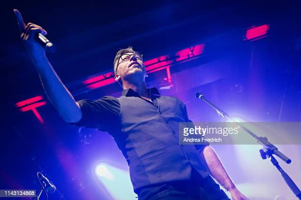 Ralf Albers of Fiddler's Green performs live on stage during a concert at Columbia Theater on May 11 2019 in Berlin Germany