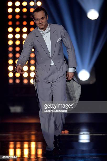 Ralf Bauer attends the 3rd show of the television competition 'Let's Dance' on March 27 2015 in Cologne Germany