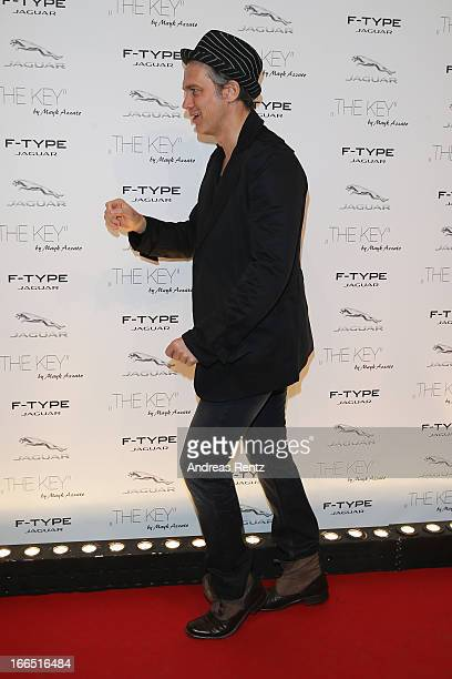 Ralf Bauer attends the Jaguar FType short film 'The Key' Premiere at eWerk on April 13 2013 in Berlin Germany