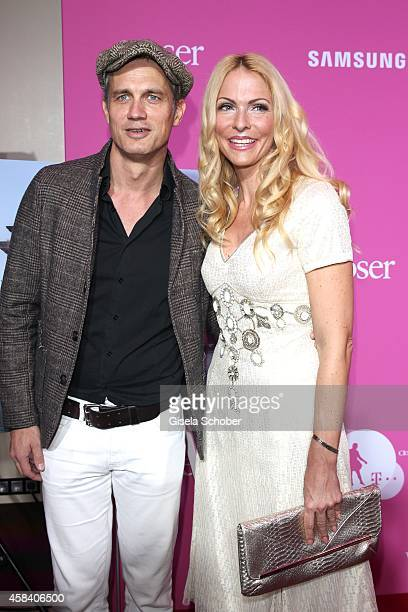 Ralf Bauer Sonya Kraus attend the CLOSER Magazin Hosts SMILE Award 2014 at Hotel Vier Jahreszeiten on November 4 2014 in Munich Germany