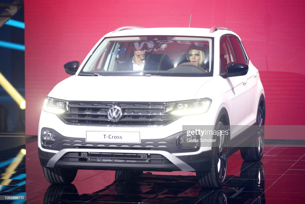 World Premiere Of The New Volkswagen T-Cross In Amsterdam : News Photo
