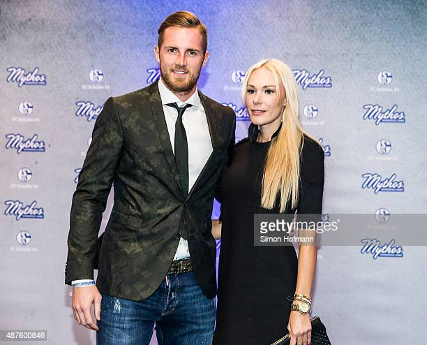 Ralf Faehrmann and Nadine Lukas attend the FC Schalke 04 111th Anniversary Gala at Musiktheater im Revier on September 10 2015 in Gelsenkirchen...