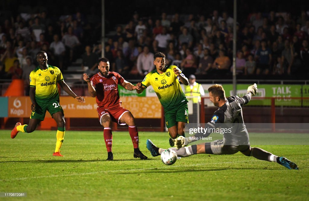 Crawley Town v Norwich City - Carabao Cup Second Round : News Photo