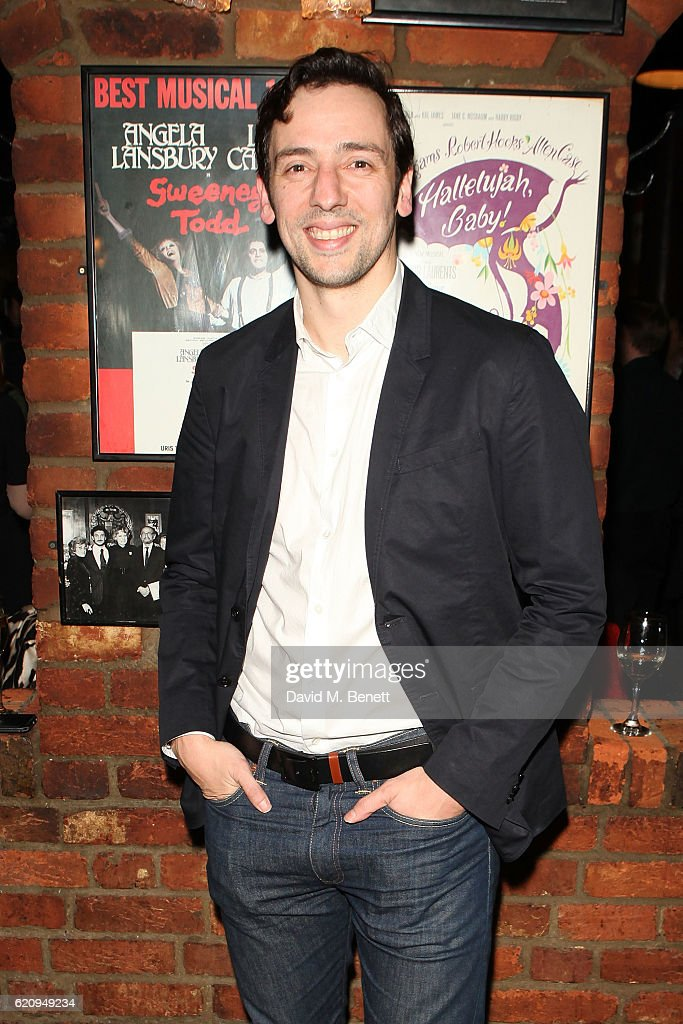 Ralf Little attends the press night after party for 'Dead Funny' at Joe Allen Restaurant on November 3, 2016 in London, England.